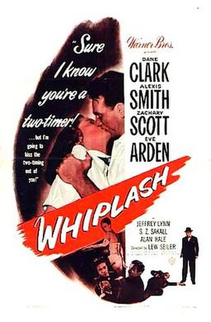 Whiplash (1948 film) - Theatrical release poster