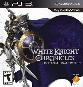 White Knight Chronicles - North American box art depicting Wisel, the White Knight