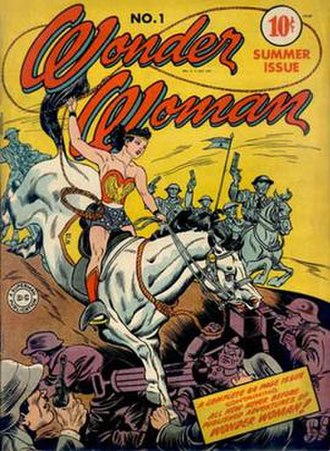 Publication history of Wonder Woman - Image: Wonder woman 01 1942