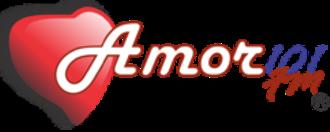 XHFX-FM - Image: XHFX Amor 101fm logo