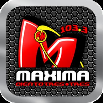 XHNW-FM - Image: XHNW maxima 103.3 logo