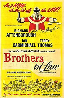 <i>Brothers in Law</i> (film) 1957 film by John Boulting, Roy Boulting