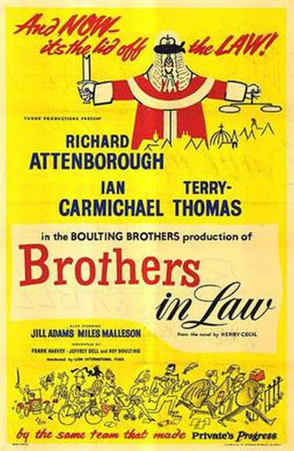 """Brothers in Law (film) - Image: """"Brothers in Law"""" (1957)"""