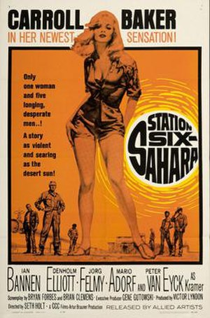 Station Six-Sahara - U.S. theatrical poster