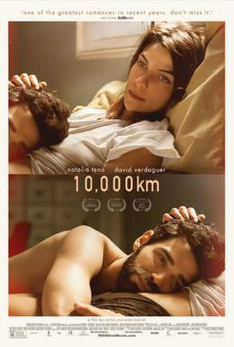 10,000 km - Theatrical release poster