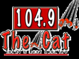 WINU - Former WZMR logo as 104.9 The Cat, 2010–2013
