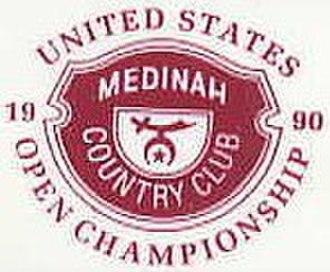 1990 U.S. Open (golf) - Image: 1990Open Logo
