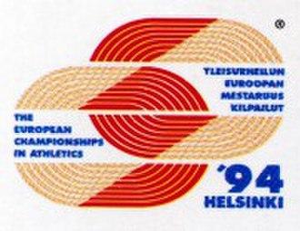 1994 European Athletics Championships - Image: 1994helsinki