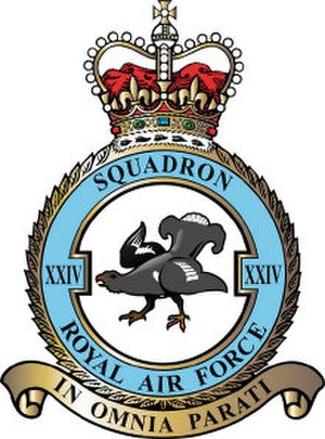 No. 24 Squadron RAF - 24 Squadron badge