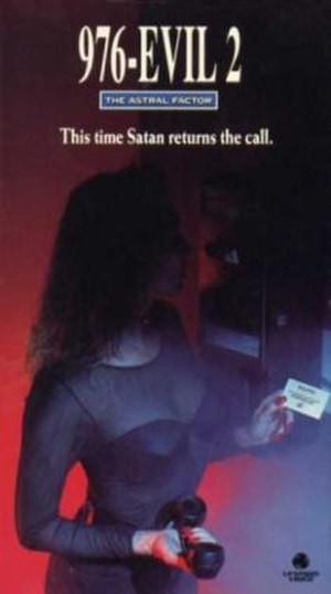 976-Evil II - VHS Cover