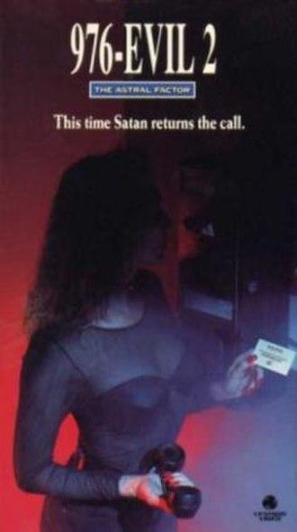 976-Evil II - VHS Cover
