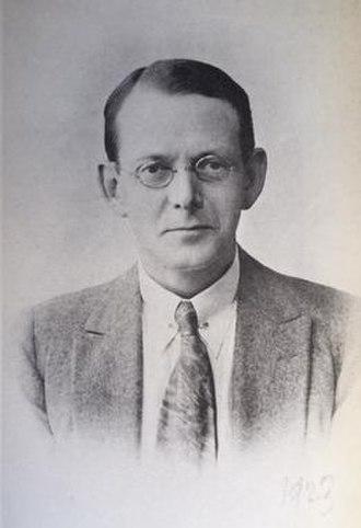 Augustus Theodore Bartholomew - Bartholomew in 1923