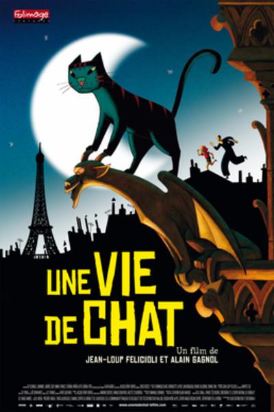 Picture of a movie: A Cat In Paris