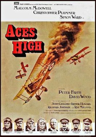 Aces High (film) - Image: Aces High UK poster