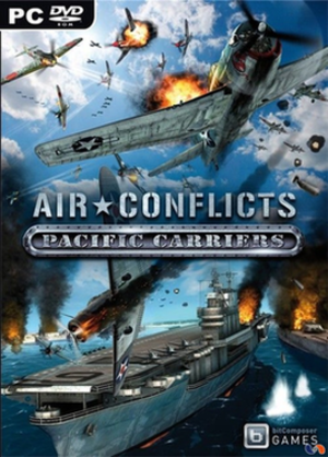 Air Conflicts: Pacific Carriers - Image: Air Conflict Pacific Carrier cover artwork