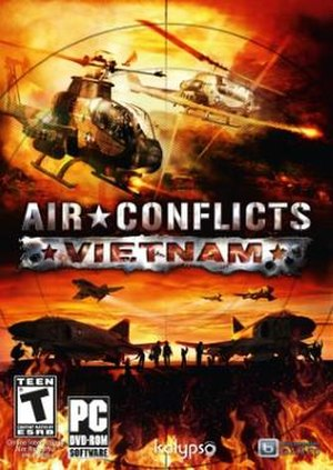 Air Conflicts: Vietnam - Image: Air Conflicts Vietnam box art