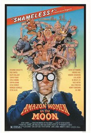 Amazon Women on the Moon - Theatrical release poster