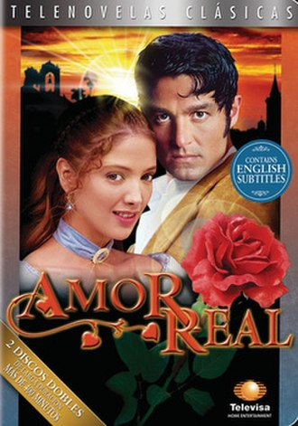 Amor real - DVD cover of Amor real