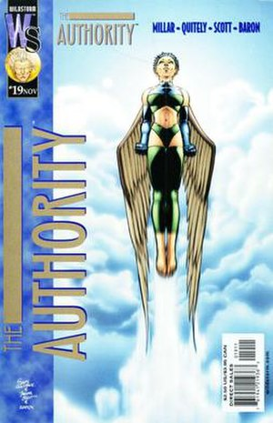 The Authority - Image: Authority Issue 19