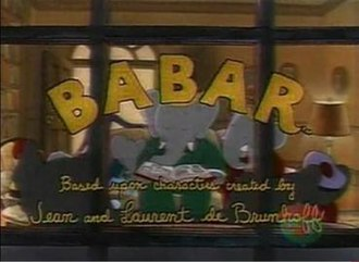 Babar (TV series) - Babar title card