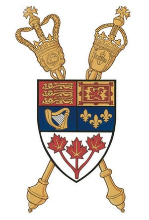 Parliament of Canada - Image: Badge of the Parliament of Canada
