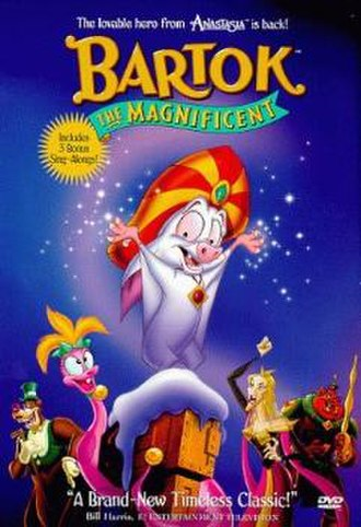 Bartok the Magnificent - DVD cover