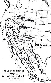 Basin and Range Province - Wikipedia, the free encyclopedia