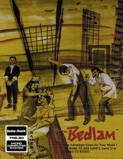 <i>Bedlam</i> (1982 video game) 1982 video game