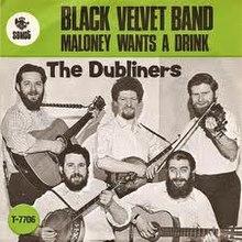 luke kelly black velvet band live biography