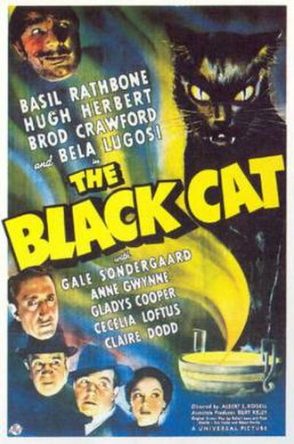 The Black Cat (1941 film) - 1941 US Theatrical Poster