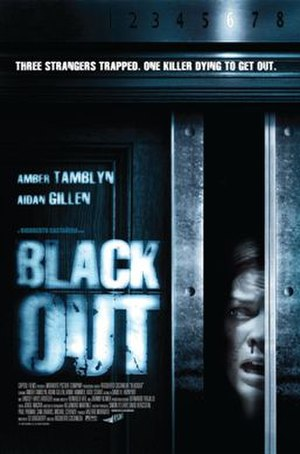 Blackout (2008 American film) - Theatrical release poster