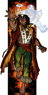 Brother Voodoo fictional character in comic books published by Marvel Comics
