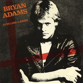 Cuts Like a Knife (song) - Image: Bryan Adams Cuts Like a Knife (UK 12)