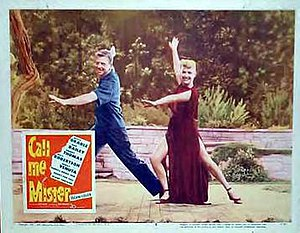 Call Me Mister (film) - Betty Grable and Dan Dailey on a Call Me Mister lobby card.