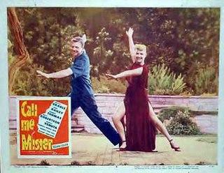 <i>Call Me Mister</i> (film) 1951 film by Lloyd Bacon