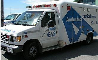Paramedics in Canada - Toronto Paramedic Services ambulance (formerly Toronto EMS)