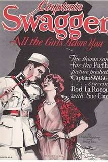 <i>Captain Swagger</i> 1928 silent film crime drama directed by Edward H. Griffith