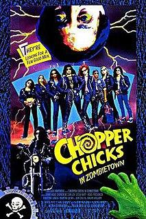 <i>Chopper Chicks in Zombietown</i> 1989 film