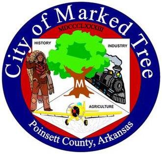 Marked Tree, Arkansas - Image: City seal
