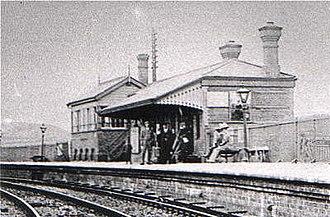 Coedpoeth - Coedpoeth Station, 1900