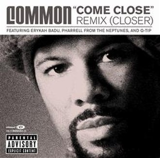 "Come Close - ""Come Close Remix (Closer)"" CD single"
