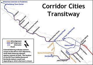 Corridor Cities Transitway