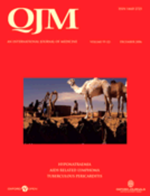 QJM (journal) - Cover of QJM: An International Journal of Medicine, Vol. 99, Issue 12 (December 2006).