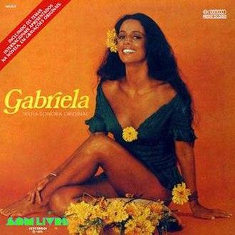 Gabriela (1975 TV series) - Image: Cover album Gabriela 1975 telenovela