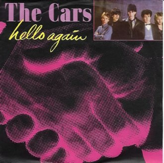 Hello Again (The Cars song) - Image: Cover for Hello Again by The Cars