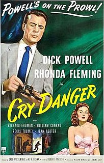 <i>Cry Danger</i> 1951 film by Robert Parrish