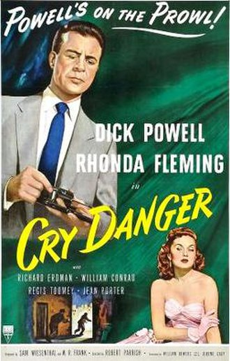 Cry Danger - Theatrical release poster