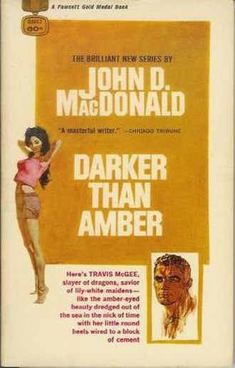 Darker than Amber - First edition cover
