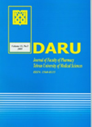 DARU Journal of Pharmaceutical Sciences - Image: Darucover