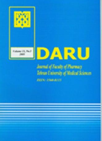 DARU Journal of Pharmaceutical Sciences - Image: Darucover